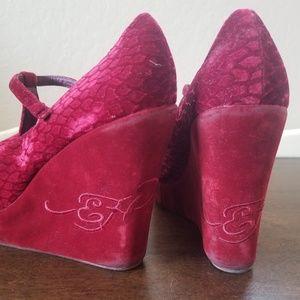 Ed Hardy Shoes - Ed Hardy Wedges